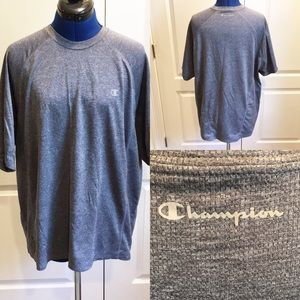 Men's XL Champion short sleeve double dry T-shirt.